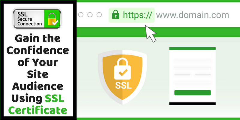 Website Using SSL Certificate